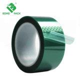 Nastro termoresistente a temperatura elevata del nastro adesivo dell'animale domestico di verde del circuito