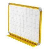 Magnetische wist Droog van de combinatie Whiteboard met Net in het Gouden Frame van het Aluminium