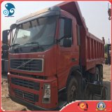 De gemakkelijk-lading-verscheept hand-Omgezette 6X4 Gebruikte Vrachtwagen van de Stortplaats van Volvo voor Bouw