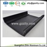 Extrusão de alumínio para o dissipador de calor do radiador de equipamento de áudio do carro com a anodização clara&Usinagem CNC