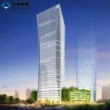 الصين مسطّحة مزدوجة لوح حرارة يقوّم منخفضة [إ] بناية زجاج لأنّ زخرفة