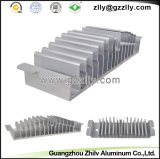 Perfil de aluminio de la protuberancia para el radiador de la luz de calle del LED