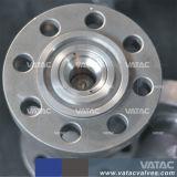 フランジが付いているAPI/DINの鋳造物か造られた鋼鉄軸流れの小切手弁は終了する(HQ44X)