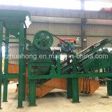 De mobiele Installatie van de Maalmachine van de Kaak van de Installatie van de Aanhangwagen voor de Mijn van de Rots