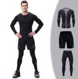 2018 oem Quick Dry Professional Compression Sportswear set Men Tracksuit