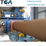 Remoção da ferrugem do tubo de aço Granalhagem Limpeza da Máquina