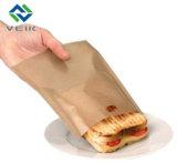 Couleur marron sac Non Stick grille-pain en téflon