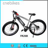 Bicicletta elettrica dell'incrociatore della spiaggia della neve della bici della gomma grassa da 26 pollici