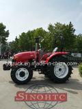 4WD 90 CV tractor con cargador frontal y retroexcavadora en venta