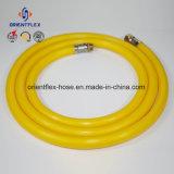 Anti-Acid, Alkali haute pression en PVC flexible de pulvérisation