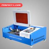 각인을%s 소형 고무 서류상 물개 Laser 조각 기계