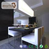 El panel de pared de interior impermeable decorativo barato del PVC para el hogar