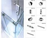 Fornecedor de Xiamen durável de chuveiro em vidro corrediço de porta para o papel higiénico de Hardware