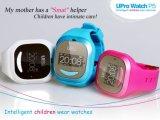 Cabritos GPS elegante que siguen el reloj del teléfono