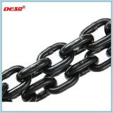 Высокая прочность черный домашний G80 стальная цепь для подъема
