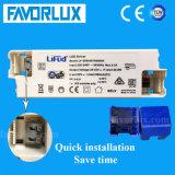 luz de painel elevada 595*595 do diodo emissor de luz do lúmen 140lm/W