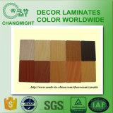HPL de grano de madera 4/laminados de alta presión