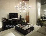Tavolino da salotto di marmo di legno di stile della casa della mobilia moderna del salone (T-93)