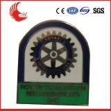 Distintivo su ordinazione del metallo di alta qualità della fabbrica di BSCI, distintivo di Pin