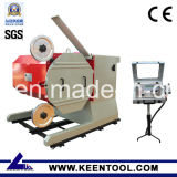 Granite Marble Limestone Sandstone TravertineおよびSlateのMiningまたはQuarryのための75kws/100HP Electrical Drive Wire Saw Machine