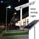 lampada esterna del LED della via del sensore giardino solare integrato/tutto compreso di 15W-100W con il comitato solare