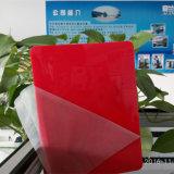 Folhas coloridas do plexiglás PMMA para a caixa leve