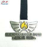 Medalla modificada para requisitos particulares del metal de los deportes para el recuerdo