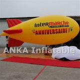 イベントのための大きいPVC飛行船の軟式小型飛行船を膨脹させている自己