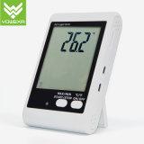 Dwl-20e, temperatura dell'allarme dell'indicatore luminoso e del suono e registratore automatico di dati di umidità con la sonda esterna