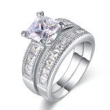 Мода Дизайн кольца для любителей CZ свадебные Ювелирные изделия