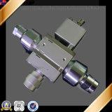 Peça de máquinas de fresar CNC de alumínio 6061-T6 de alta qualidade