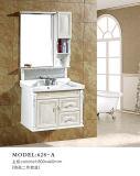 Weiße Treffen-Schwarz-Badezimmer-Eitelkeit kombinierter Belüftung-Badezimmer-Schrank
