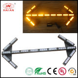 LED indicador de tráfico de forma de flecha de color ámbar de advertencia de la lámpara de luz de la dirección de la luz de Tráfico