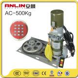 Una buena calidad AC500kg Motor del obturador de rodillo residente con control remoto