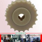 Edelstahl, der mit maschinell bearbeitendem u. drehendem Präzision CNC sich dreht