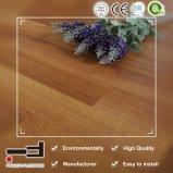 8mm Finition Crystal 3 bandes de hêtre HDF ciré Unilin cliquez ou cliquez sur l'Arc Planchers laminés pour salle de marché