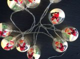 Neues LED-Zeichenkette-Licht mit Schneemann-Dekoration