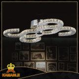 高品質のホームホテルのプロジェクト水晶LEDの天井ランプ(MX77057-32)