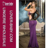 Reizvoller Rhinestone-formales Abend-Kleid (L51303-1)