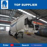 대륙간 탄도탄 비산회 시멘트 Bulker 판매를 위한 압축 공기를 넣은 시멘트 트레일러 분말 탱크 트레일러