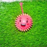 Bola sonriente de la cara con la fabricación de risita sana del meneo del giro excéntrico