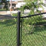 Винил покрыл 6FT цепной ограждать провода, котор/звено цепи обнести забором крен