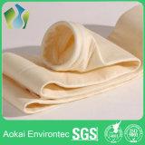 Sacchetto filtro acrilico perforato ago non tessuto del sacchetto filtro