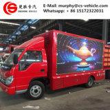 Forland 4X2 야외 활동 이동할 수 있는 광고 발광 다이오드 표시 트럭