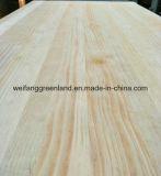 Madera contrachapada natural del pino, madera contrachapada del infante de marina de la chapa del pino 4X8