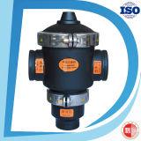 Valvola idraulica di modo di nylon del nero 3 di prezzi di fabbrica del filtro da acqua
