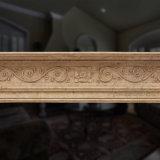 Chimenea de mármol tallado simple (T-1888)