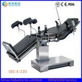 Tableau chirurgical réglable hydraulique électrique de théâtre d'opération de matériel d'hôpital