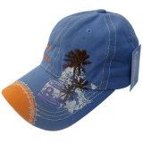 Chapéu do paizinho de dois tons com logotipo agradável Gj1723b