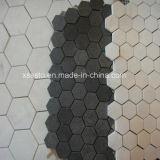 불규칙한 형태 녹색 대리석 모자이크 타일 & 패턴